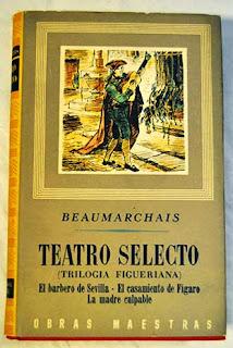 """""""Teatro selecto"""" - Beaumarchais."""