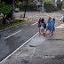 CCTV: Girl Robbed at a Street in Quezon City while Talking to Others