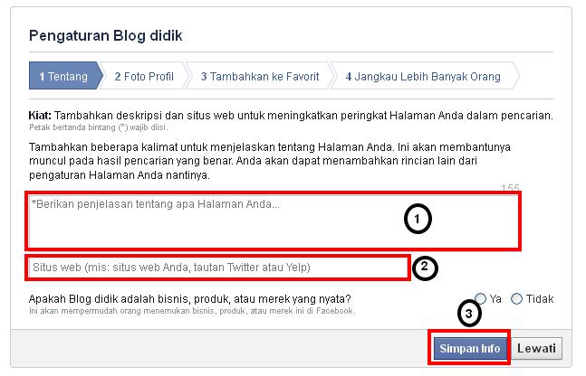 cara mudah buat halaman situs di facebook atau fanspages