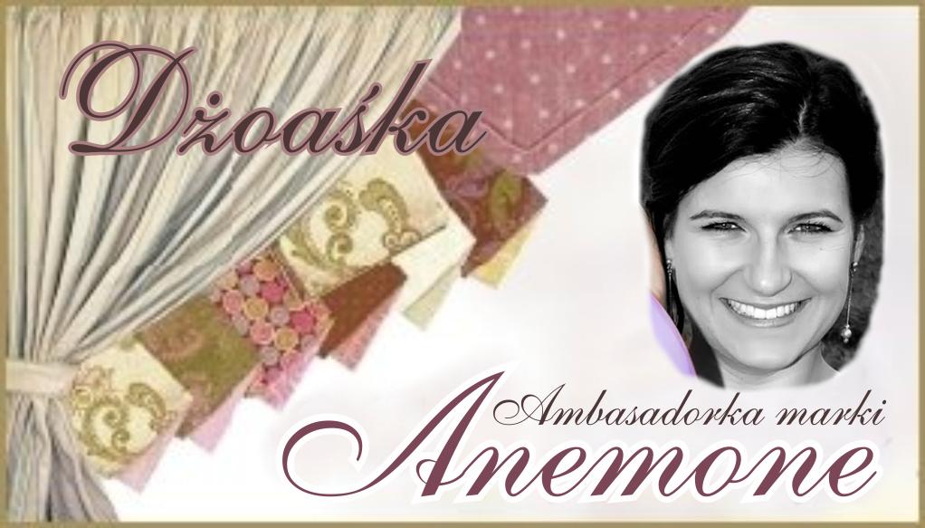 Ambasadorka marki Anemone