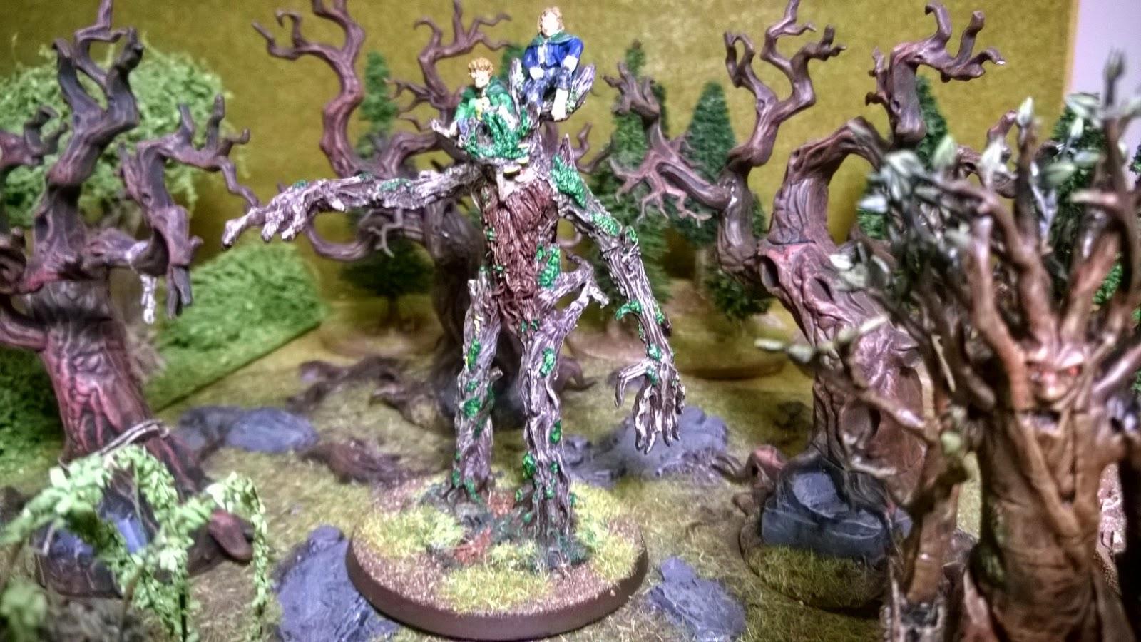 lotr treebeard model miniature ent