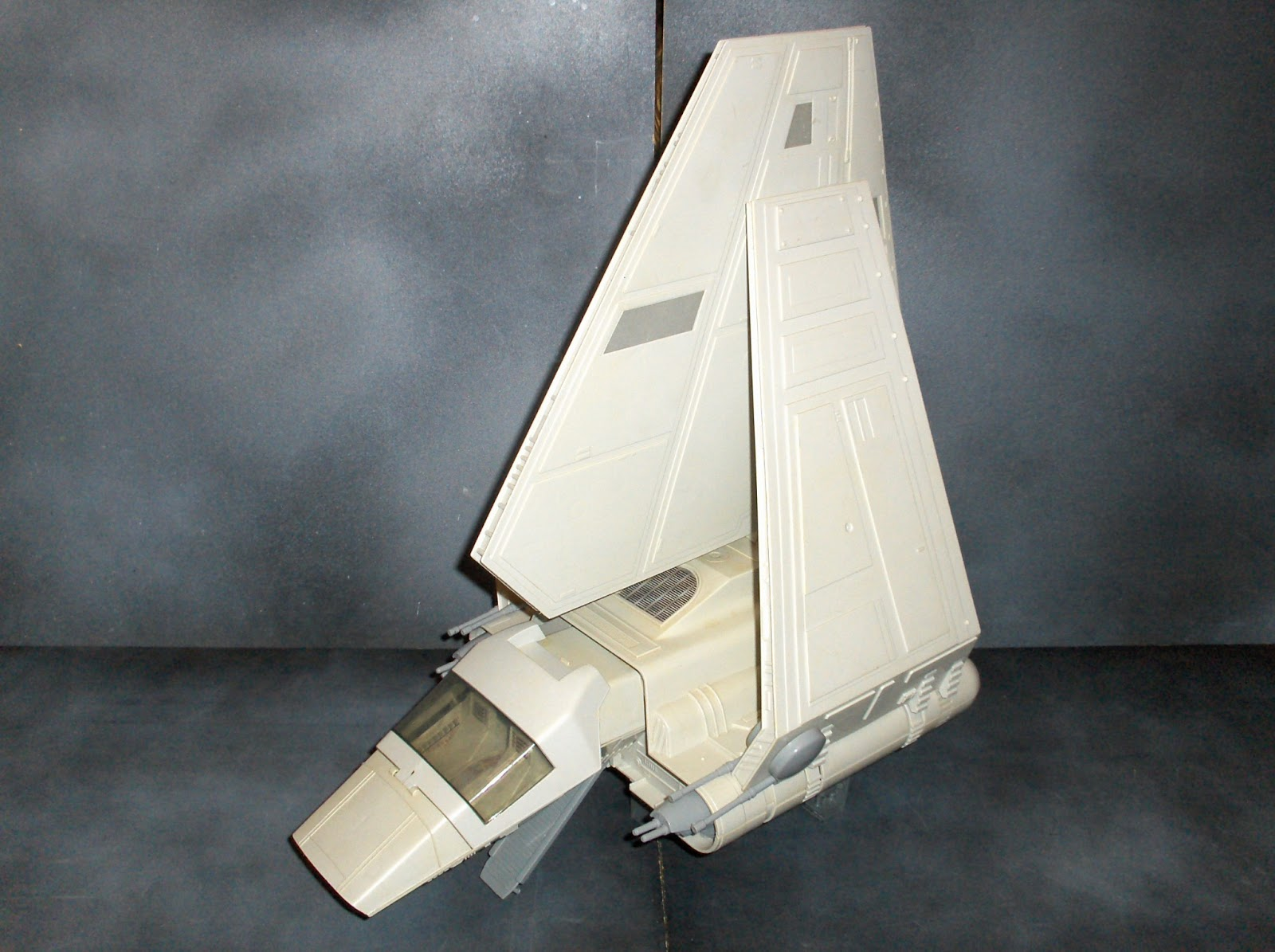 Star Wars Toy Ships : Vintage kenner star wars toys imperial shuttle vehicle
