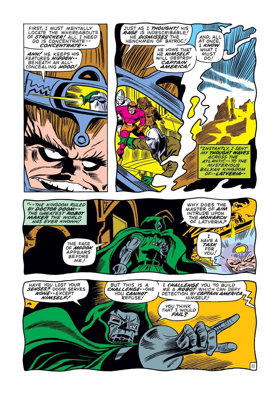 Captain America (1968) Issue #132 #46 - English 12