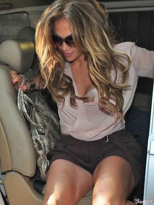 J Lo's legs in shorts