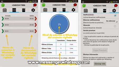 Entérate cuando se conectan tus amigos de WhatsApp con WhatsDog