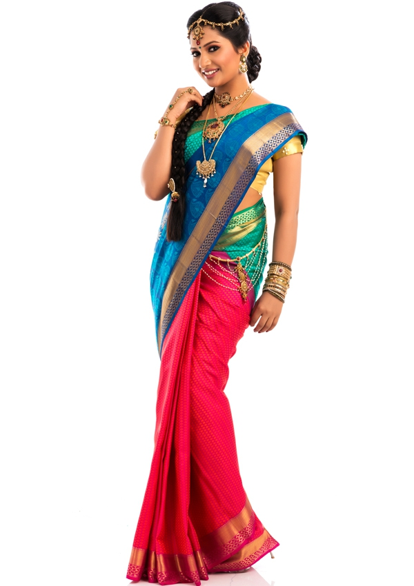Bridal wear  Sari Album