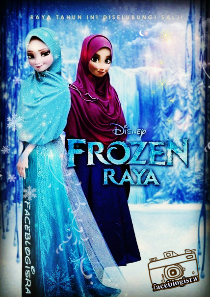gambar baju frozen