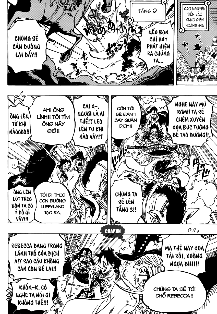 One Piece Chapter 753: Tác chiến 012