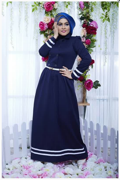 Contoh Foto Baju Muslim Modern Terbaru 2016 Model Baju
