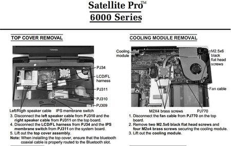 toshiba satellite c850 service manual pdf