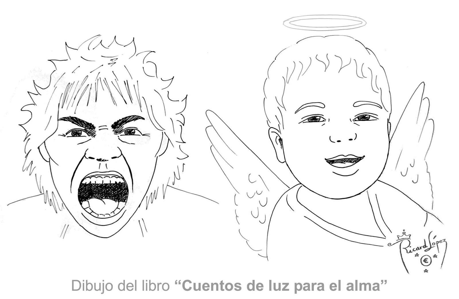 Dibujos muy originales para colorear de Ricard López: Dibujo del ...