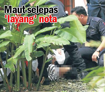Pembantu rumah maut terjatuh kondominium