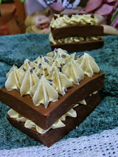 Tarta de chocolate.