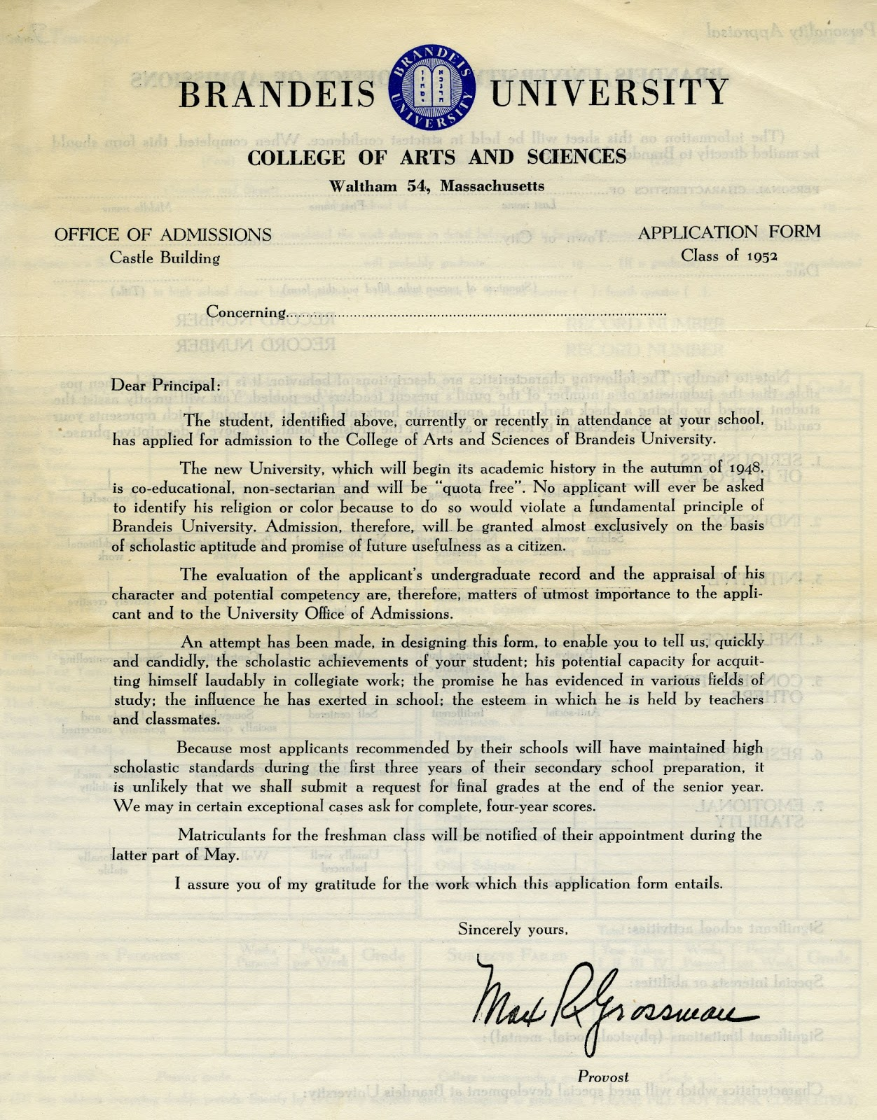 Dissertation Participant Letter