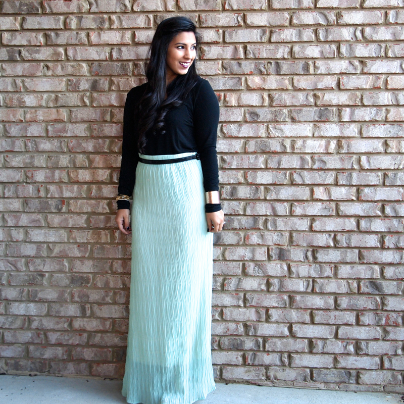 timeless mint maxi skirts in the winter simply sabrina