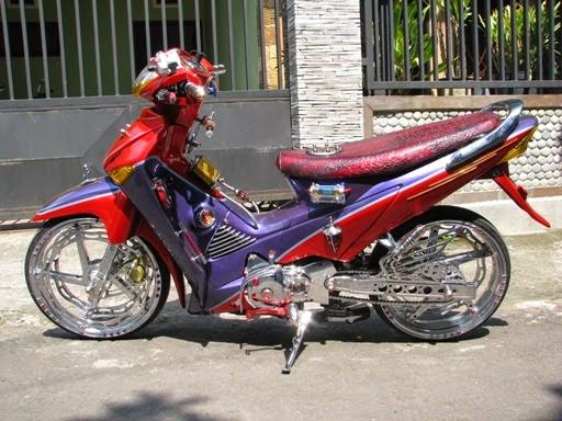 Foto Modifikasi Honda Supra X 125