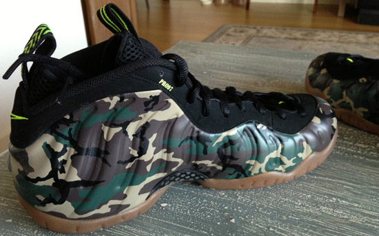 Nike Air Foamposite One Black Electric Green