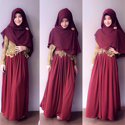 Model Baju Muslimah Syar'i Cantik