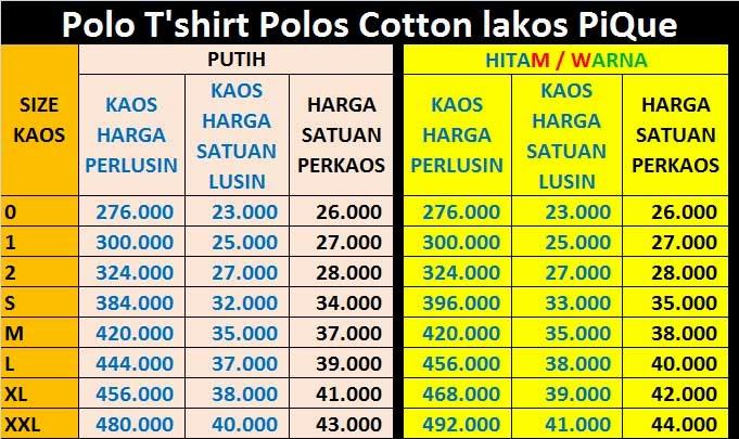 Kaos Polos Neck Denpasar Bali