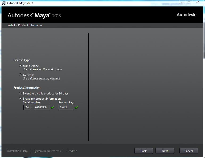 Autodesk maya 2010 product key serial number