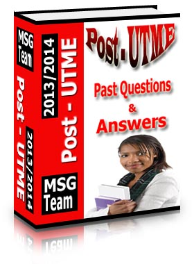 Get 2013/2014 Post-UTME Practice Questions & Answers280