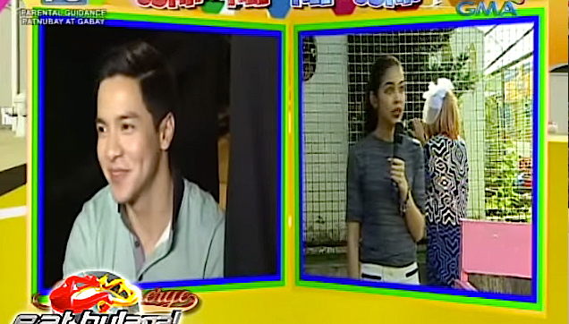 Alden Richards suddenly blushed when she was invited by Maine to visit her in Bulacan