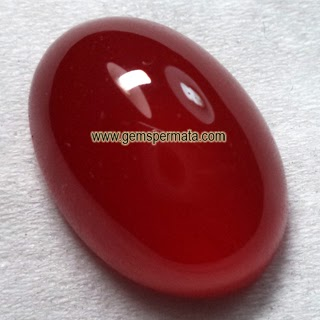 Natural Red Carnelian Asli Bermemo