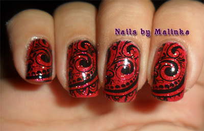 Nails by Malinka: M'n eerste zandlakje