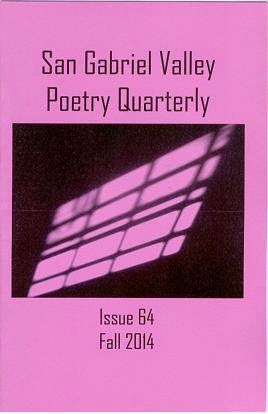 San Gabriel Valley Poetry Quarterly Fall 2014
