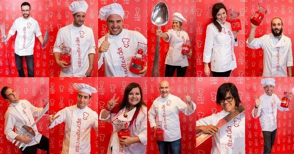 Demos la vuelta al dia ya tiene a los doce ganadores de su II Beca de Cocina