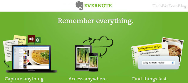 My Favorite Business Apps for Android, iPhone and Blackberry – 5 Super Hot phone apps for 2013 – Evernote