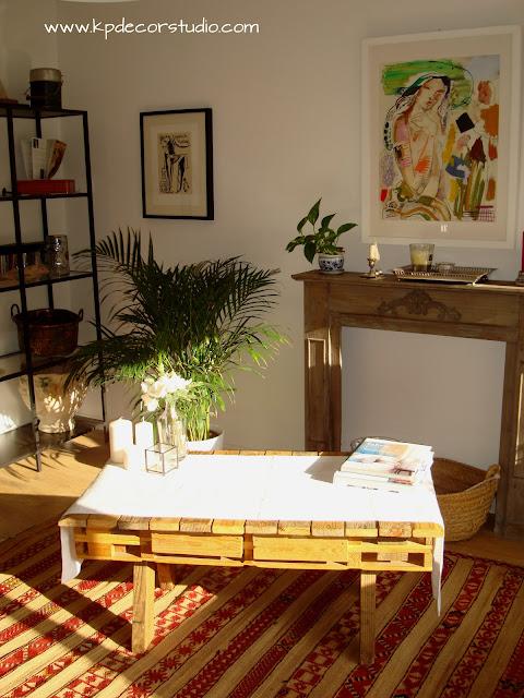 mesas originales de madera para decoracion vintage