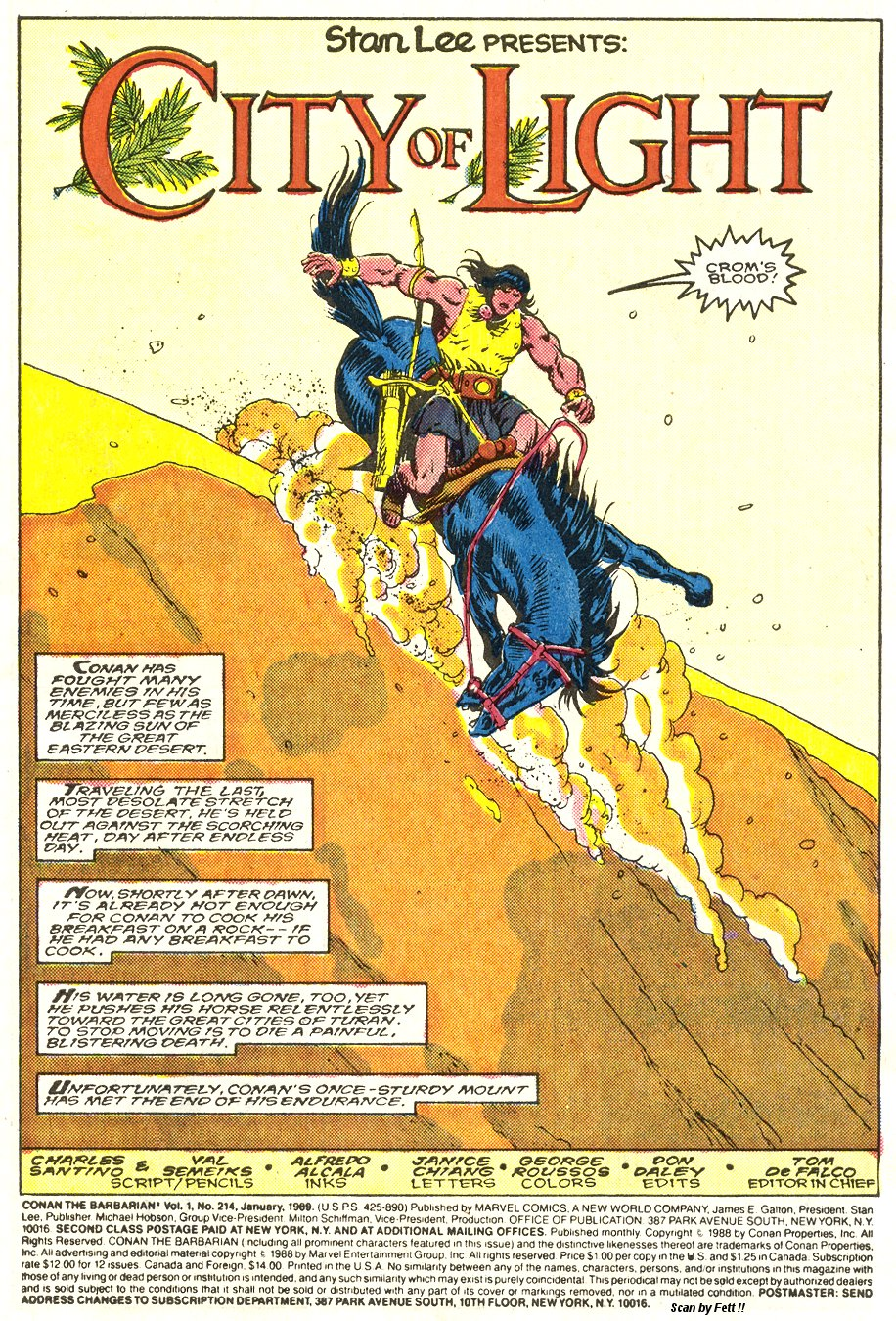 Conan the Barbarian (1970) Issue #214 #226 - English 2
