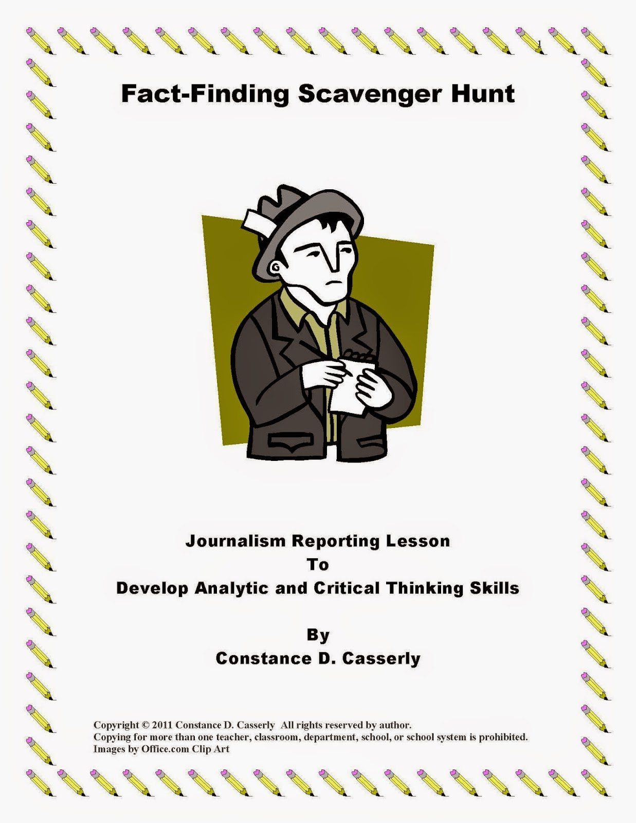 Fact- Finding Scavenger Hunt