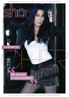 Edition of 'Shangay Express' with Cher on the cover
