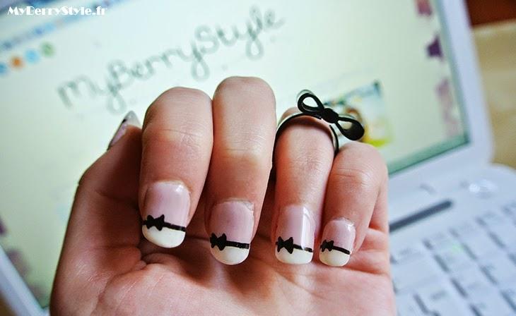 diy manucure uv de jolis ongles noeud en quelques minutes myberrystyle beaut 233 grenoble