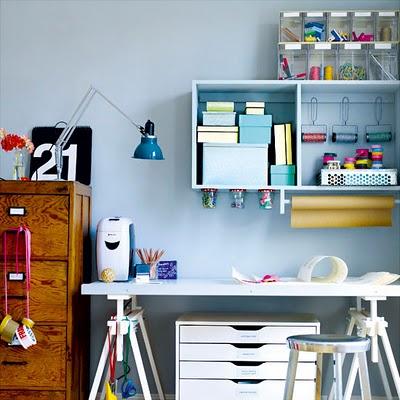Decoraci n de interiores oficinas en casa cuartos de for Imagenes de oficinas en casa
