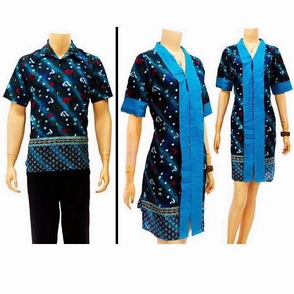 SD2850  Model Baju Sarimbit Batik Modern Terbaru 2014