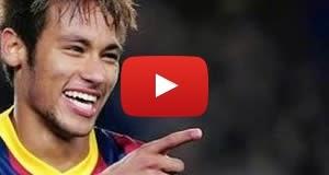Veja o vídeo do golaço de Neymar em amistoso