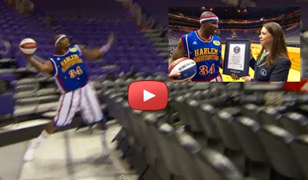 Harlem Globetrotters' Thunder Law Breaks Guinness World Record For Longest Basketball Shot (VIDEO)