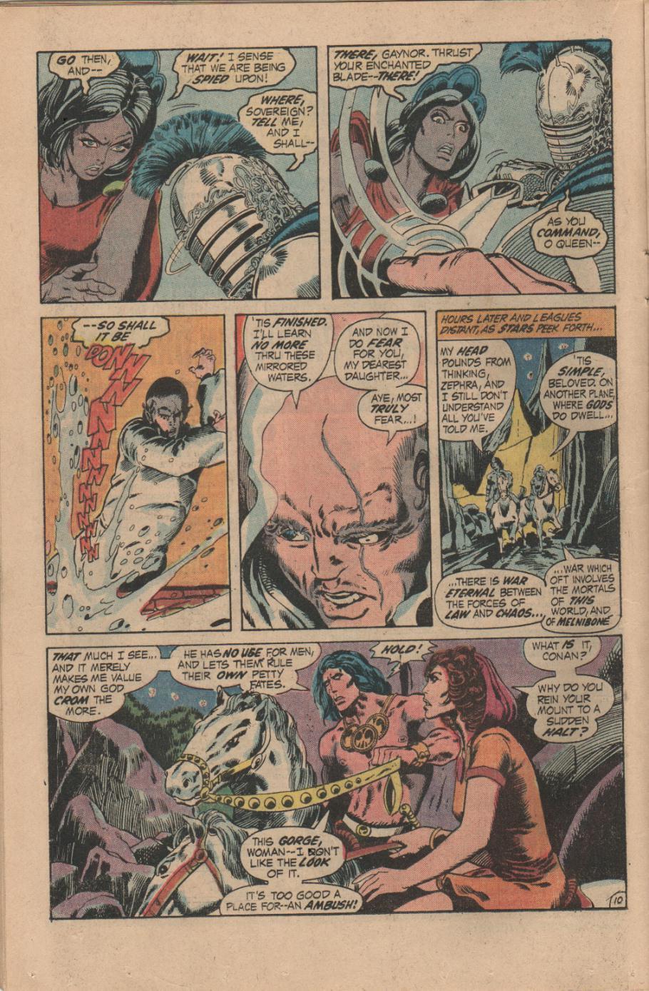 Conan the Barbarian (1970) Issue #14 #26 - English 11