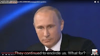 Vladimir Putin Why Russia feels threatened by United States