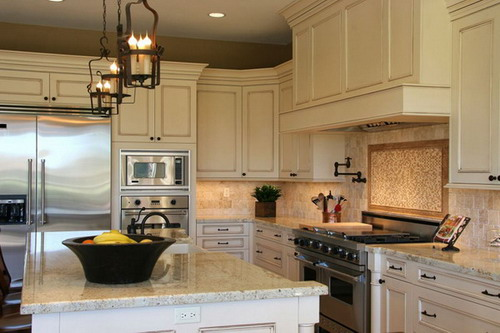 Knowing the standard kitchen cabinet dimensions to design for Standard white kitchen cabinets