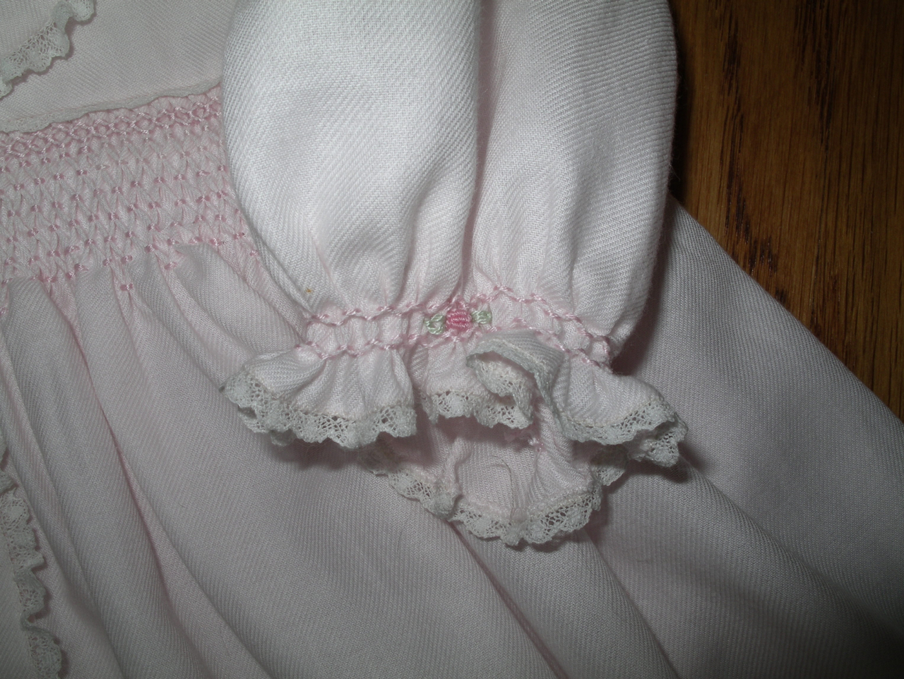 The Old Fashioned Baby Sewing Room Smocked Baby Clothes