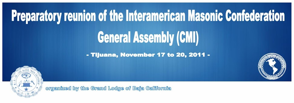 Preparatory reunion of the Interamerican Masonic Confederation General Assembly