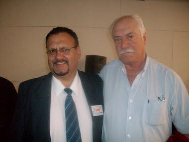 Luis Vega y Escritor Goyo Schang