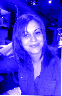 foto con tono azul
