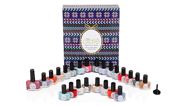 Ciate Mini Mani Advent Calendar 2013 Contents Review