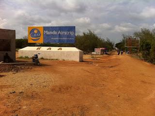 Old Terminal Manda Airport
