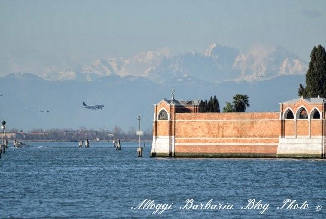 Montagne viste da Venezia